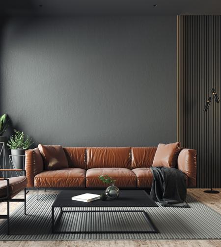 Un salón minimalista que se centra en lo esencial